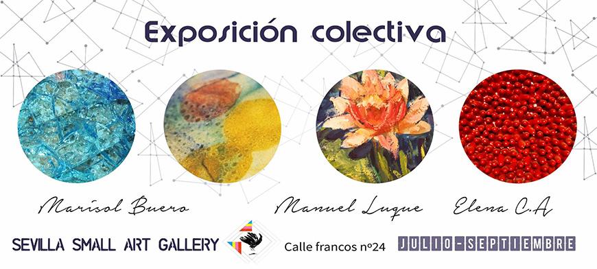 Exposición colectiva: Marisol Bueno, Manuel Luque y Elena C. A